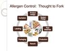 Allergen Controls in the Food Industry
